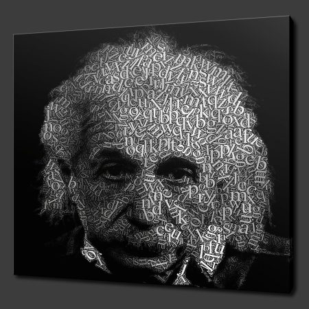 Albert Einstein Canvas Print Art