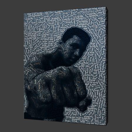 Muhammad Ali Canvas Print Wall Art