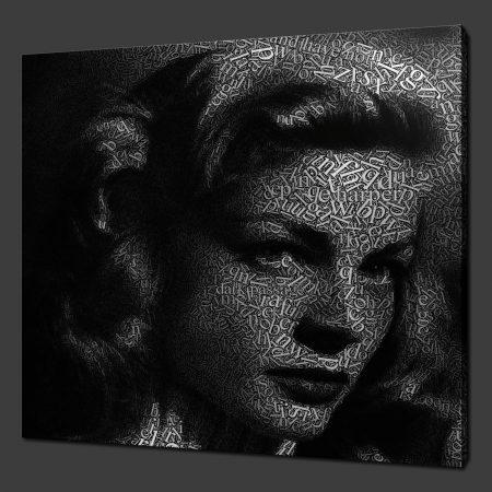 Lauren Bacall Canvas Print Art