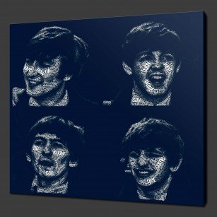 Beatles Canvas Print Wall Art