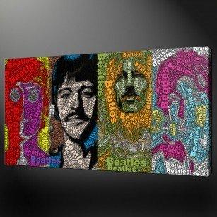 Beatles canvas picture print
