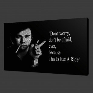 Bill Hicks Canvas Print Wall Art