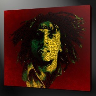 Bob Marley Canvas Print Art