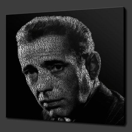 Humphrey Bogart Canvas Print Art