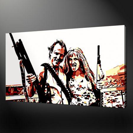 Natural Born Killers canvas print art