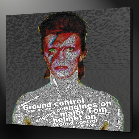 David Bowie Canvas Print Art