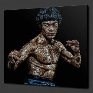Bruce Lee Canvas Print Art