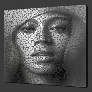 Beyoncé Knowles Canvas Print Art