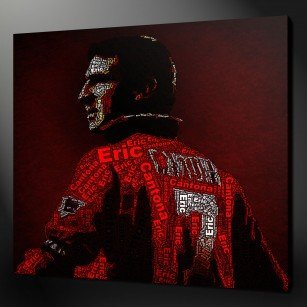 Eric Cantona Canvas Print Art