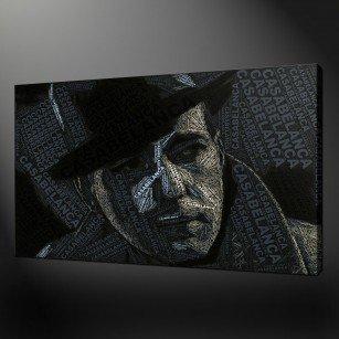 Casablanca Humphrey Bogart Canvas Print Art
