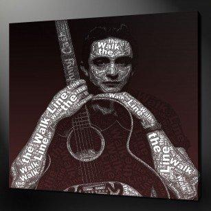 Johnny Cash Canvas Print Art