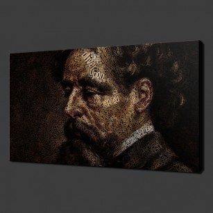 Charles Dickens Canvas Print Art