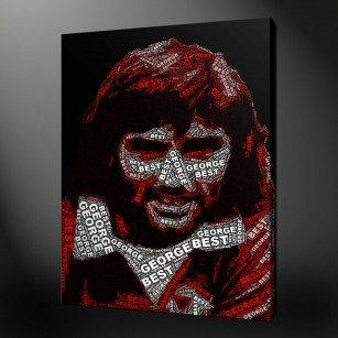 George Best Canvas Print Wall Art