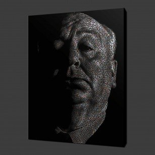 Alfered Hitchcock Canvas Print Wall Art