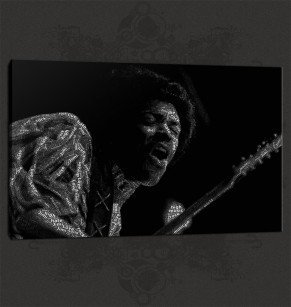 Jimi Hendrix Canvas Print Wall Art