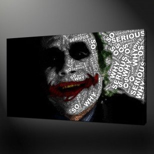 Batman Joker Canvas Print Wall Art