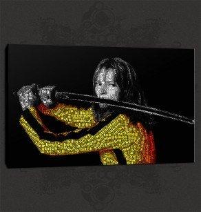 Kill Bill Canvas Print Wall Art