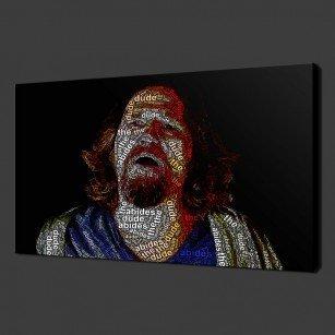 The Big Lebowski Dude Canvas Print Art
