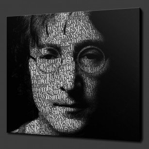John Lennon Canvas Print Art