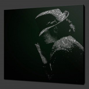 Michael Jackson Canvas Art
