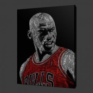 Michael Jordan Canvas Print Art