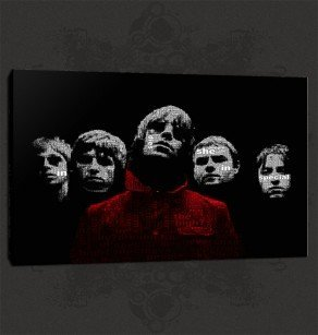 Oasis Liam Noel Canvas Print Art