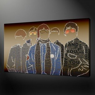 Oasis Liam Noel Canvas Print Art