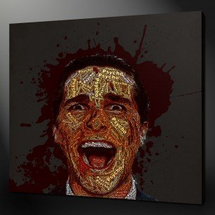 American Psycho Canvas Print Art