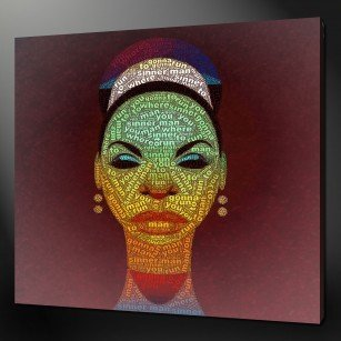 Sinnerman Nina Simon Canvas Art