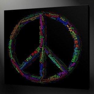 Peace Canvas Print Art