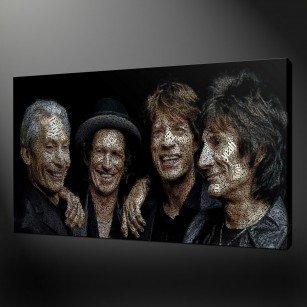 Rolling Stone Canvas Art Print