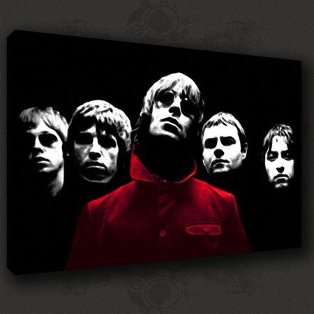 Oasis canvas art
