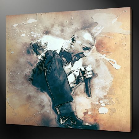 CHESTER BENNINGTON LINKIN PARK CANVAS WALL ART PICTURE PRINT