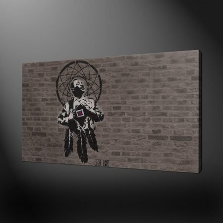 BANKSY MARTIN LUTHER KING DREAM CATCHER