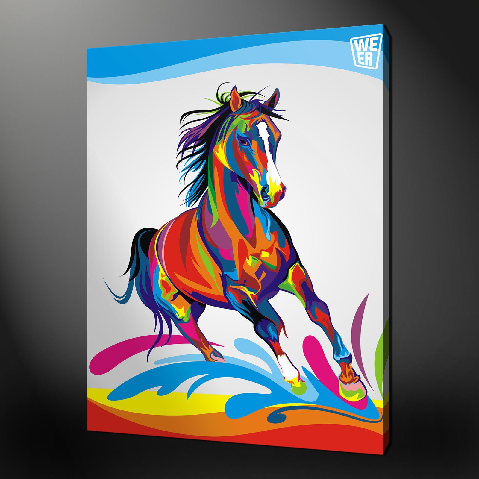 Canvas print pictures high quality handmade free next for Free wall painting designs