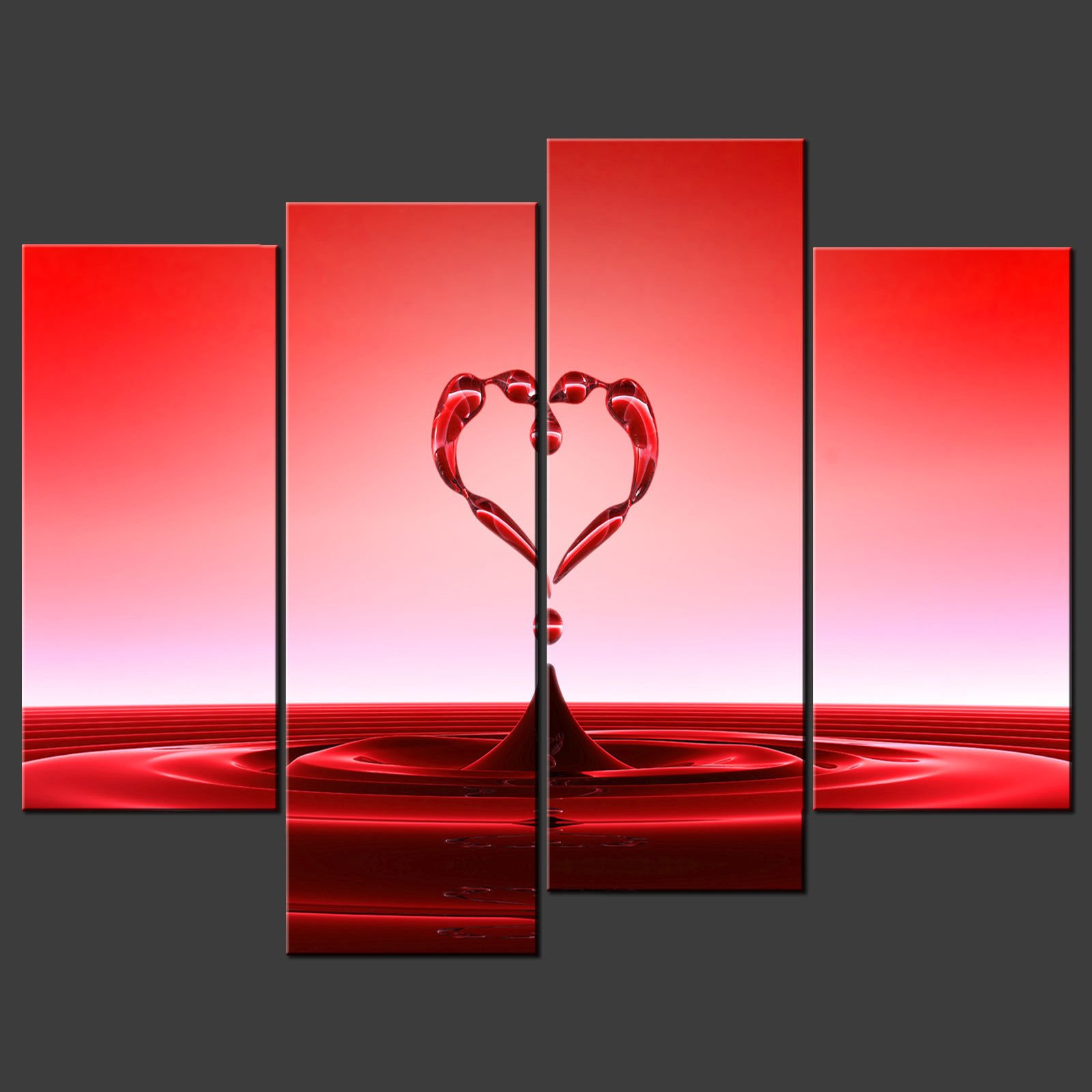 luxury red wall art about my blog. Black Bedroom Furniture Sets. Home Design Ideas