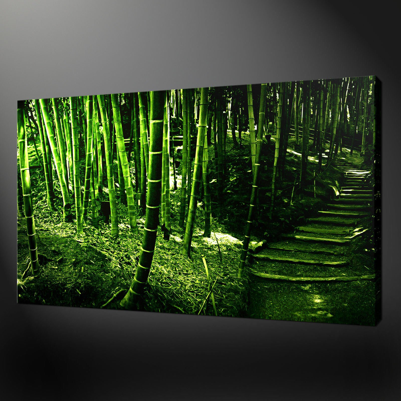 bamboo forest canvas wall art pictures prints variety of sizes free uk pu0026p