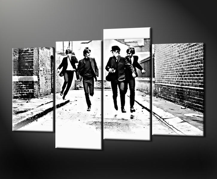 BEATLES CANVAS PRINT PICTURE WALL ART HANDMADE IN UK