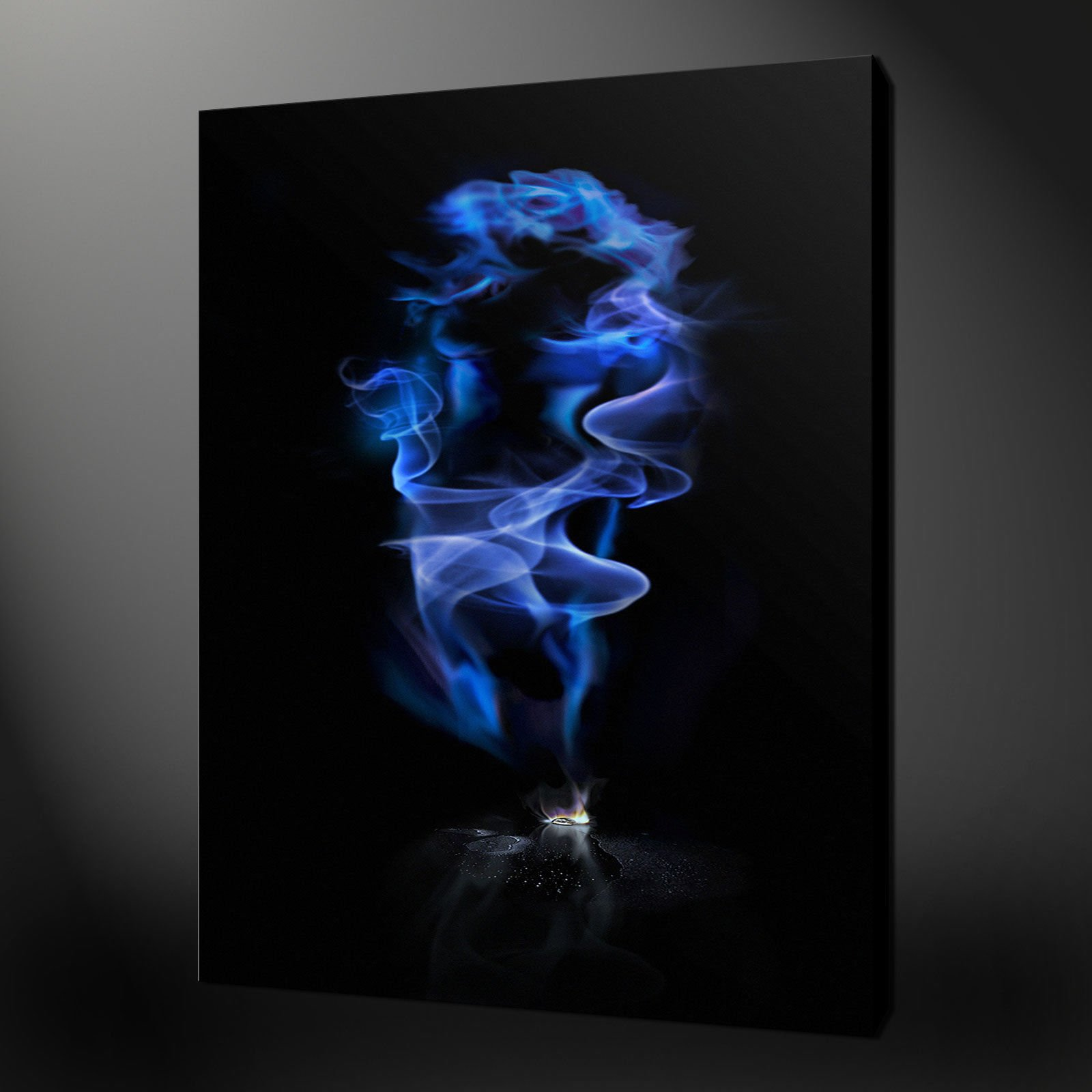 Black archives canvas print art for Funky wall art