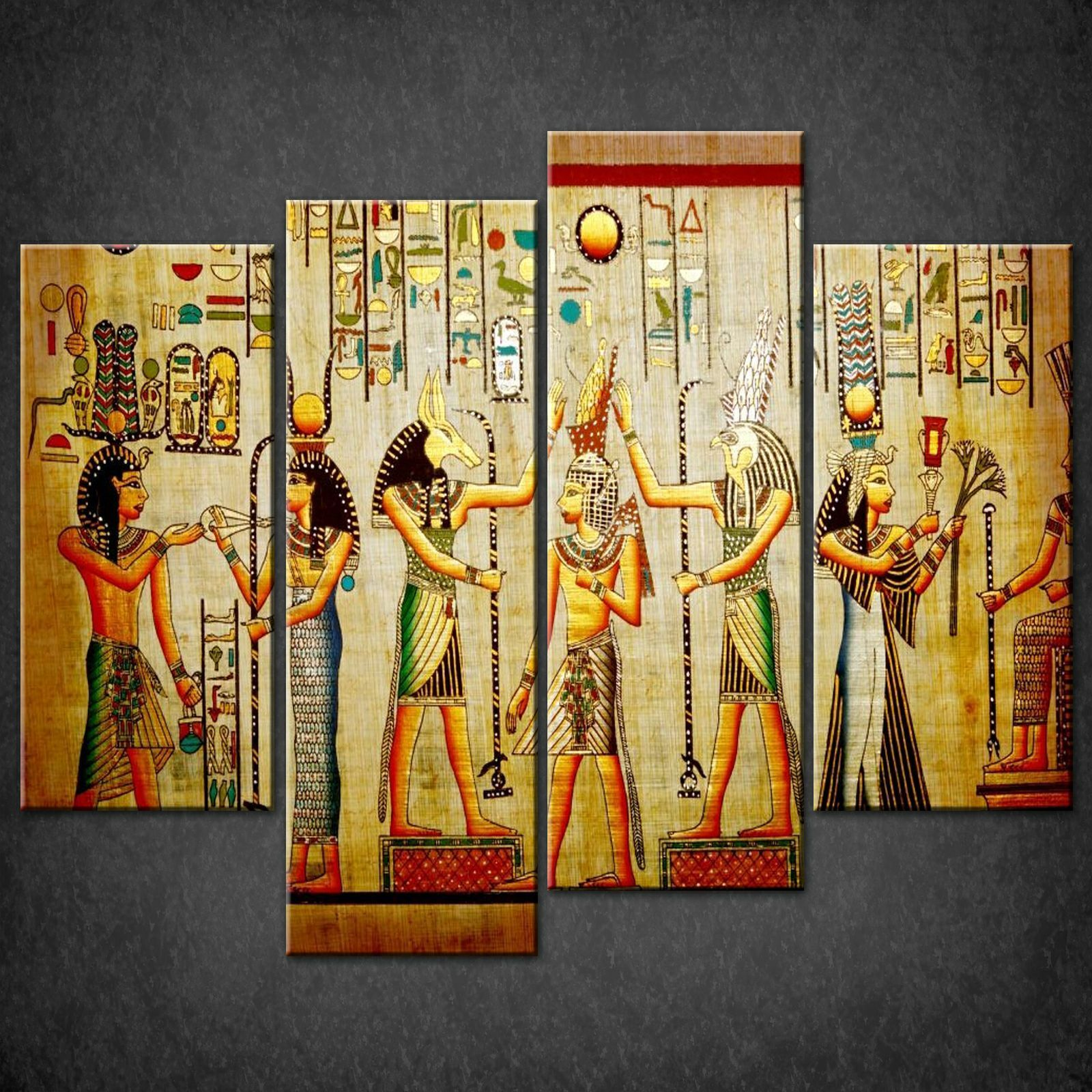 Beautiful Egyptian Wall Art Crest - The Wall Art Decorations ...