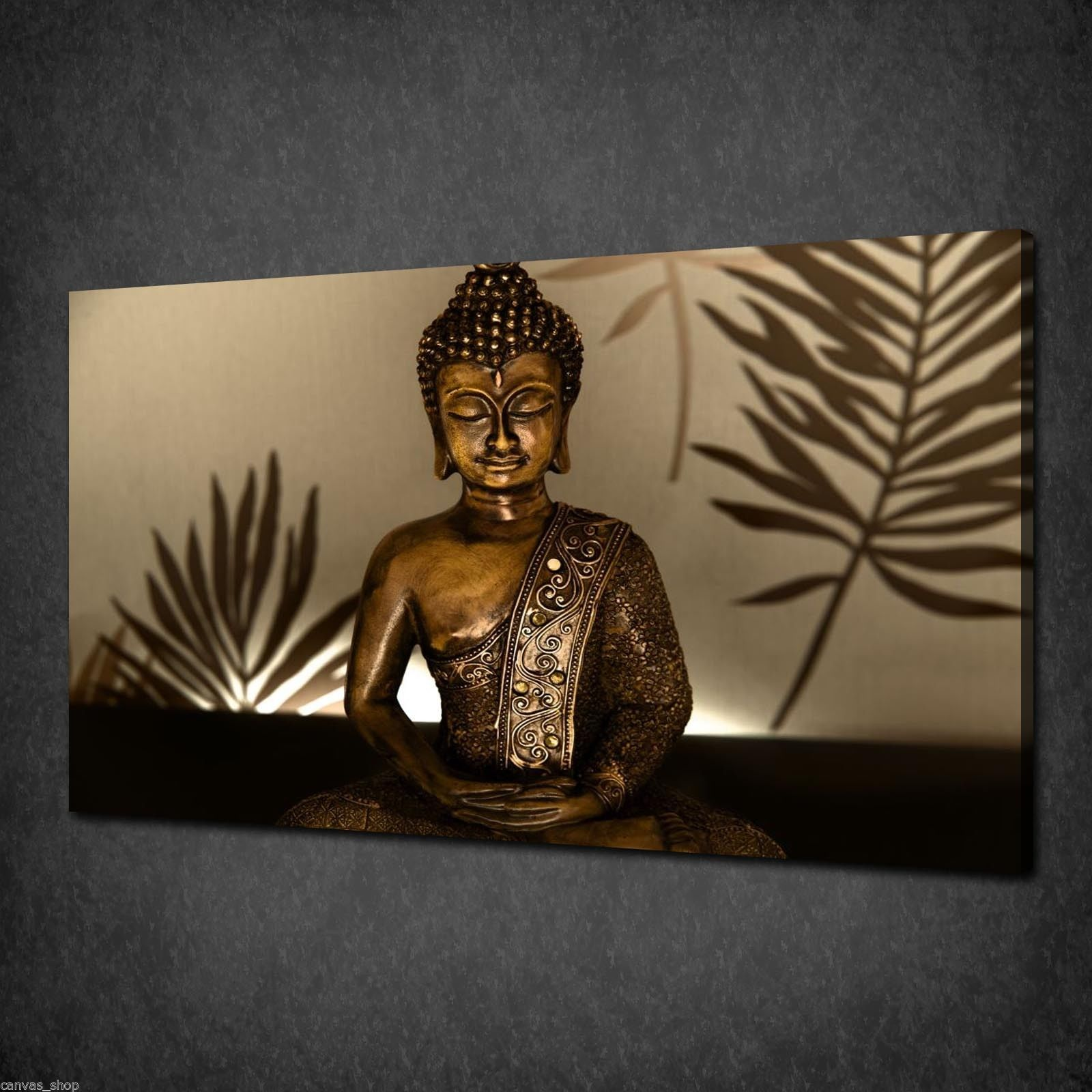 Canvas print pictures high quality handmade free next for Buddha decorations for the home uk