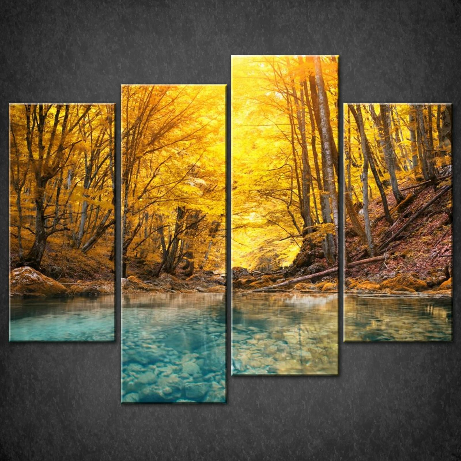 Luxury Split Canvas Wall Art Pattern - Wall Art Collections ...