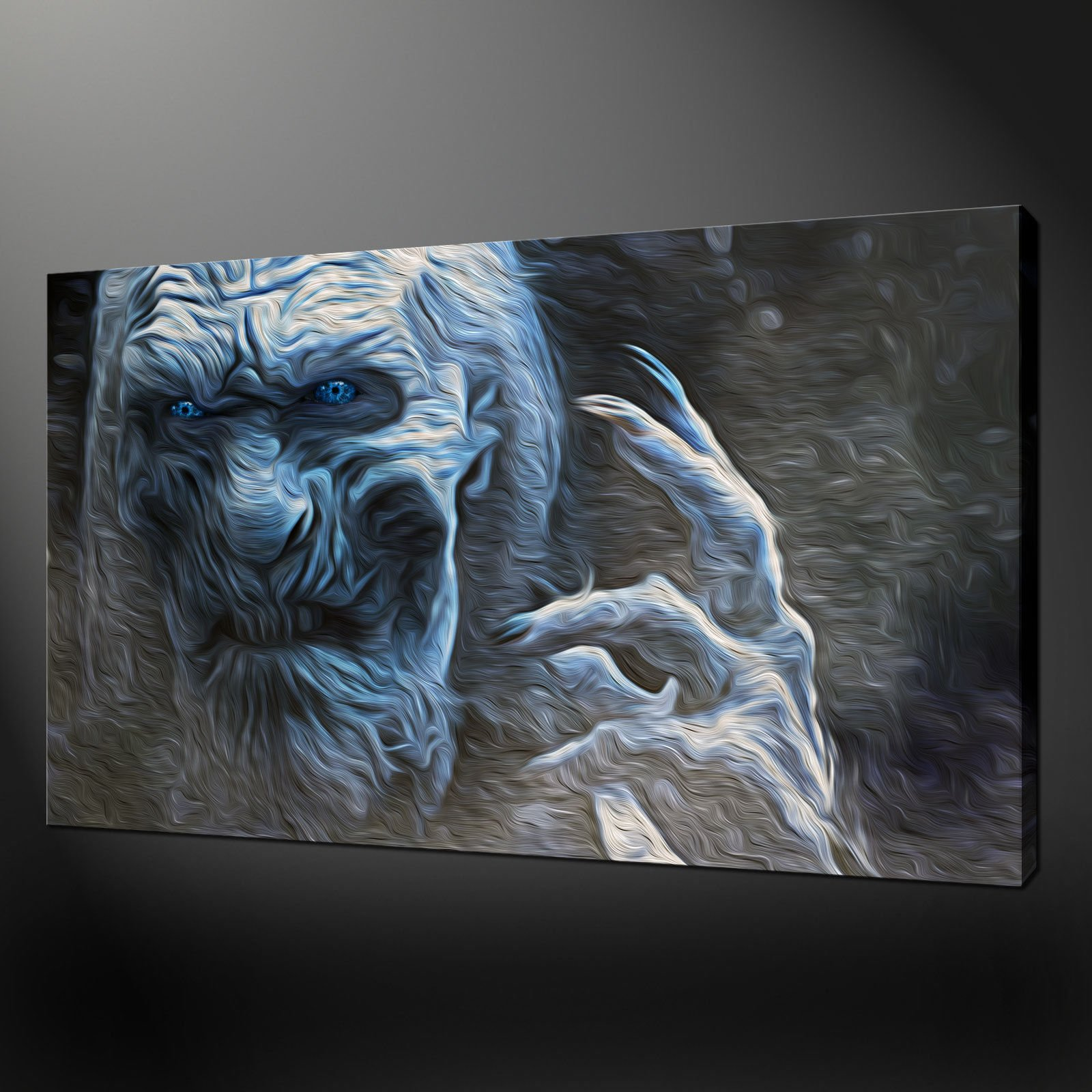 Game of Thrones White Walker Canvas Art Print