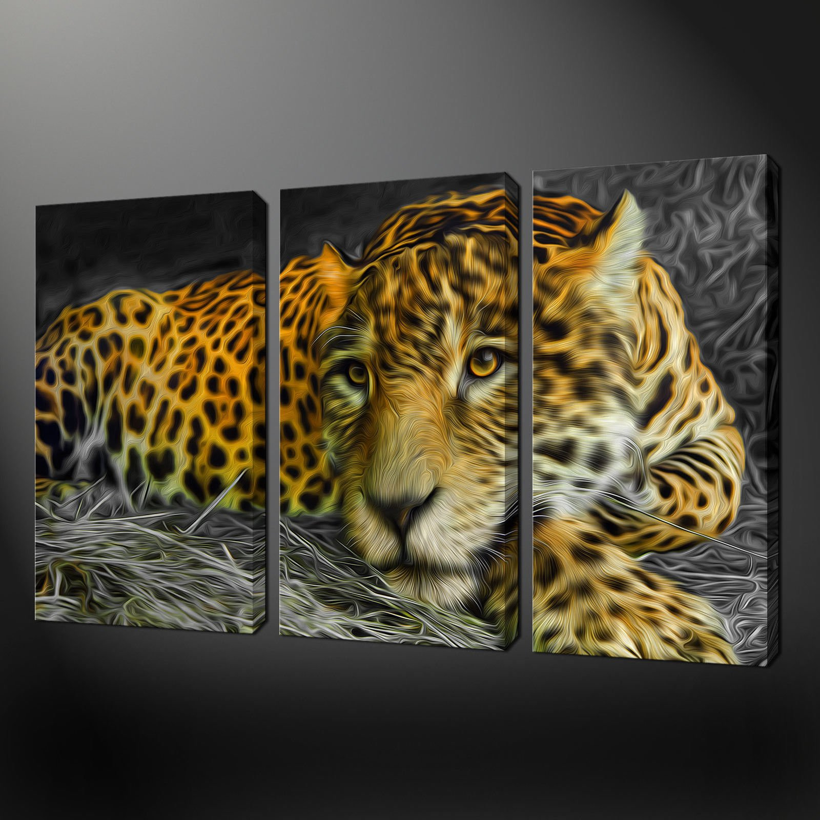 Canvas print pictures high quality handmade free next for 3 panel painting