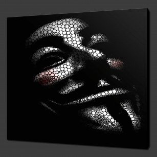 canvas print pictures VENDETTA